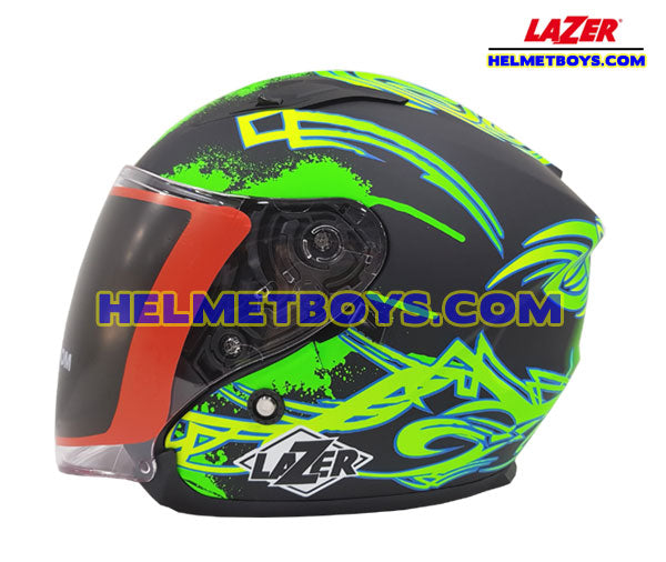LAZER JH3 Motorcycle Helmet Sunvisor GALAXY side