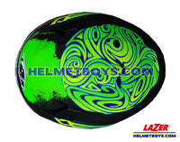 LAZER JH3 Motorcycle Helmet Sunvisor GALAXY top