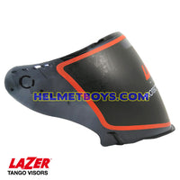 LAZER TANGO motorcycle helmet smoked tinted visor face shield side view