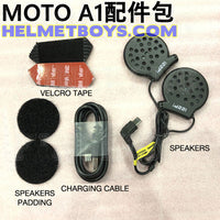 MOTO A1 Motorcycle Bluetooth Headset accessories kit