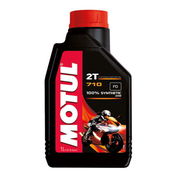 MOTUL 710 motorcycle engine oil 100% synthetic 2-Stroke motorcycle lubricant Ester technology
