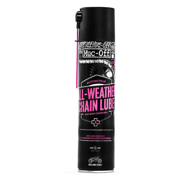 MUC OFF All-Weather motorcycle chain lube 400ML