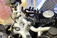 MWUPP motorcycle fingergrip smartphone holder handle bar mount