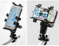 MWUPP motorcycle fingergrip smartphone holder 360 rotate