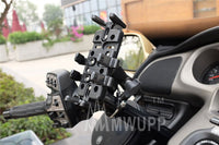 MWUPP motorcycle fingergrip smartphone holder U clamp