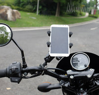 MWUPP motorcycle smartphone holder handle bar mounting
