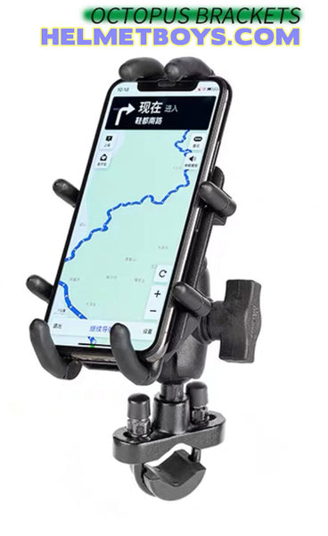 MWUPP Octopus Motorcycle Mobile Phone Holder bracket clamp