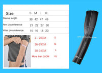 ROCKBROS Motorcycle UV Armsleeves dimension measurements