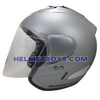 EVO RS 959 MATT GREY motorcycle helmet side view