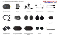 SENA SMH5-FM Motorcycle Bluetooth Headset accessories