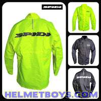 SPIDI premium waterproof motorcycle rainjacket poster