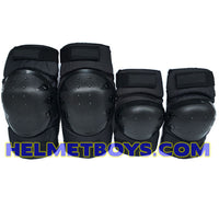 SSDC BBDC CDC elbow knee guard protection gear 4 piece