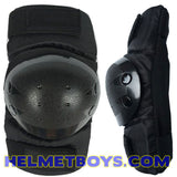 SSDC BBDC CDC elbow knee guard protection gear side view