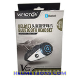 ViMOTO V6 Motorcycle Bluetooth Headset box packaging