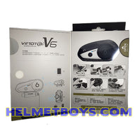 ViMOTO V6 Motorcycle Bluetooth Headset instructions