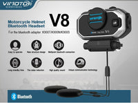 ViMOTO V8 Motorcycle Bluetooth Headset advantages