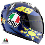 AGV K3 ROSSI 46 Donkey Full Face Helmet right side
