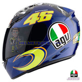 AGV K3 ROSSI 46 Donkey Full Face Helmet side view