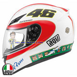 AGV K3 ROSSI 46 ICON Full Face Motorcycle Helmet side view