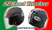 ARAI RAM 4 TRI COLOR Motorcycle Helmet