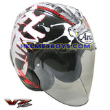 ARAI VZRAM DRAGON motorcycle Helmet slant view