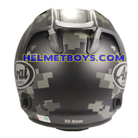 ARAI VZRAM MIMETIC motorcycle Helmet back full view