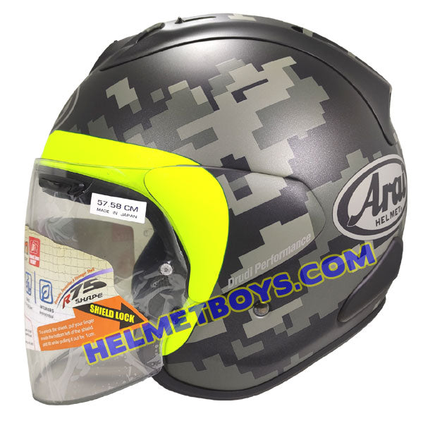 ARAI VZRAM MIMETIC motorcycle Helmet side view