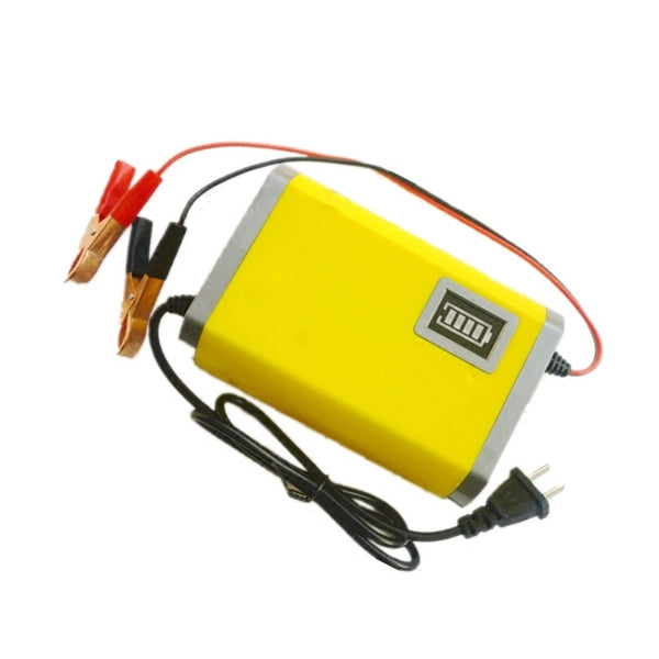 Emergency portable motorcycle battery charger