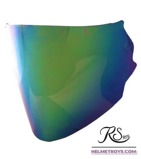 EVO RS959 motorcycle helmet Rainbow Tinted Visor
