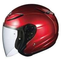 KABUTO AVAND2 open face motorcycle helmet wine red