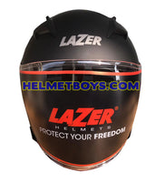 LAZER JH5 motorcycle helmet sunvisor front view