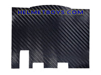 Motorcycle IU sticker carbon fibre part