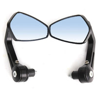 Motorcycle Handle Bar End Side Mirrors front view