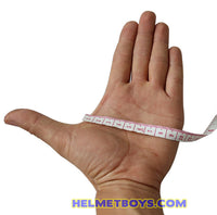 how to measure motorcycle glove size