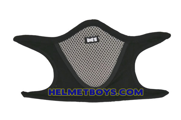 Motorcycle half face mask grey ear support haze coronavirus sars