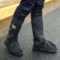 Motorcycle rider rain shoes waterproof PVC