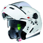 NOLAN GREX flip up helmet white visor up