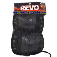 REVO elbow knee guard protection gear set