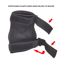 REVO elbow knee guard protection gear velcro strap