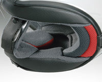 Shoei JFORCE 4 motorcycle Helmet removeable side cheekpads