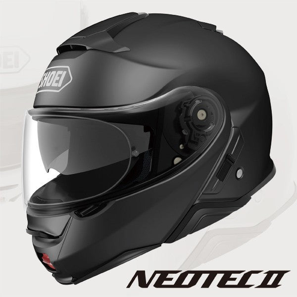 SHOEI NEOTEC 2 motorcycle flipup helmet matt black