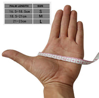 motorcycle bike learners glove sizing chart