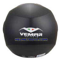 VEMAR BREEZE 3/4 jet style open face motorcycle helmet back full view