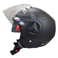 VEMAR BREEZE 3/4 jet style open face motorcycle helmet side view