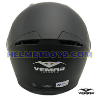 VEMAR SHARKI flip up motorcycle helmet back view