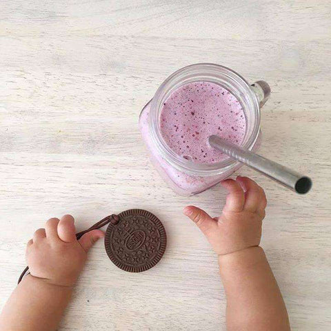 Haakaa Oreo Silicone Cookies FREE Teething Necklaces