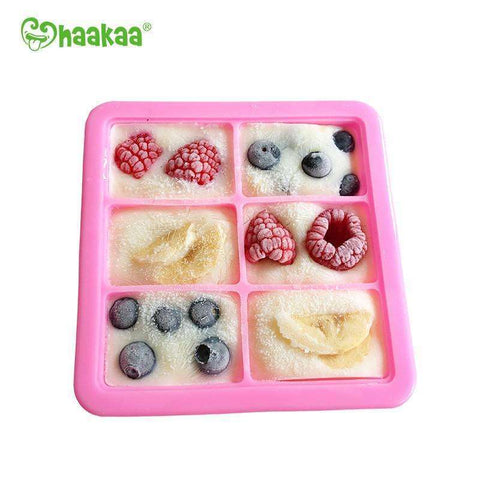 Haakaa Baby Food and Breast Milk Freezer Tray:Totsworld Pte Ltd