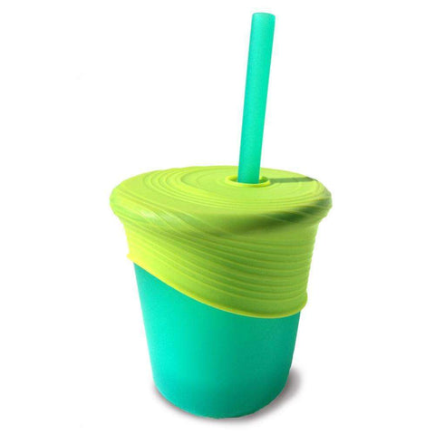 Siliskin® Straw Cup Set:Totsworld Pte Ltd