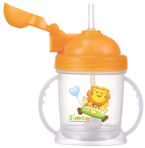 Simba Training Cup with Auto Straw 180ml