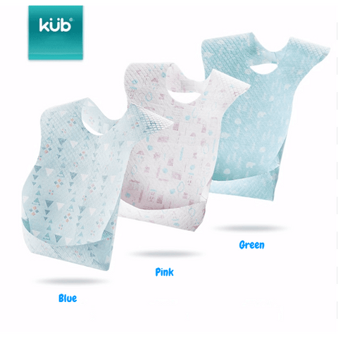 KUB Disposable Bibs 20pcs Per Box